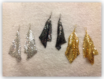 Earrings- Mesh