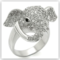 Ring - Good Luck Elephant